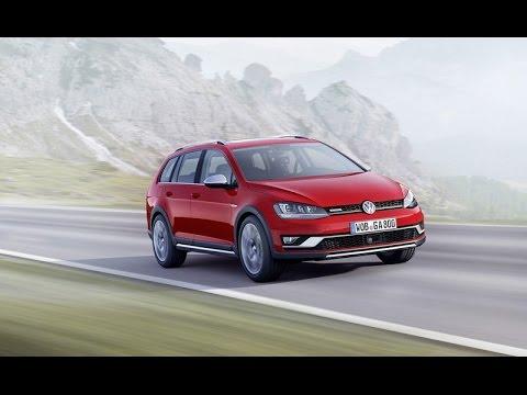 2015 Volkswagen Golf Alltrack Youtube