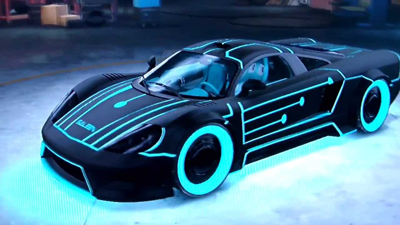 Muscle Car Wallpaper Black And White Midnight Club Los Angeles Tron Legacy Saleen S7 Tuning