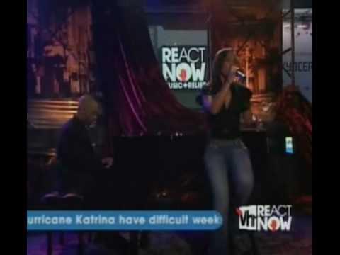 Alicia Keys - You'll Never Walk Alone @ MTV React Now