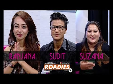 ROADIES ON THE COUCH   HIMALAYA ROADIES CONTESTANTS   LIVON-THE EVENING SHOW AT SIX
