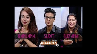 ROADIES ON THE COUCH | HIMALAYA ROADIES CONTESTANTS | LIVON-THE EVENING SHOW AT SIX