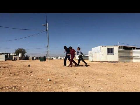 Zaatari's children: poverty, conflict and displacement in refugee camp