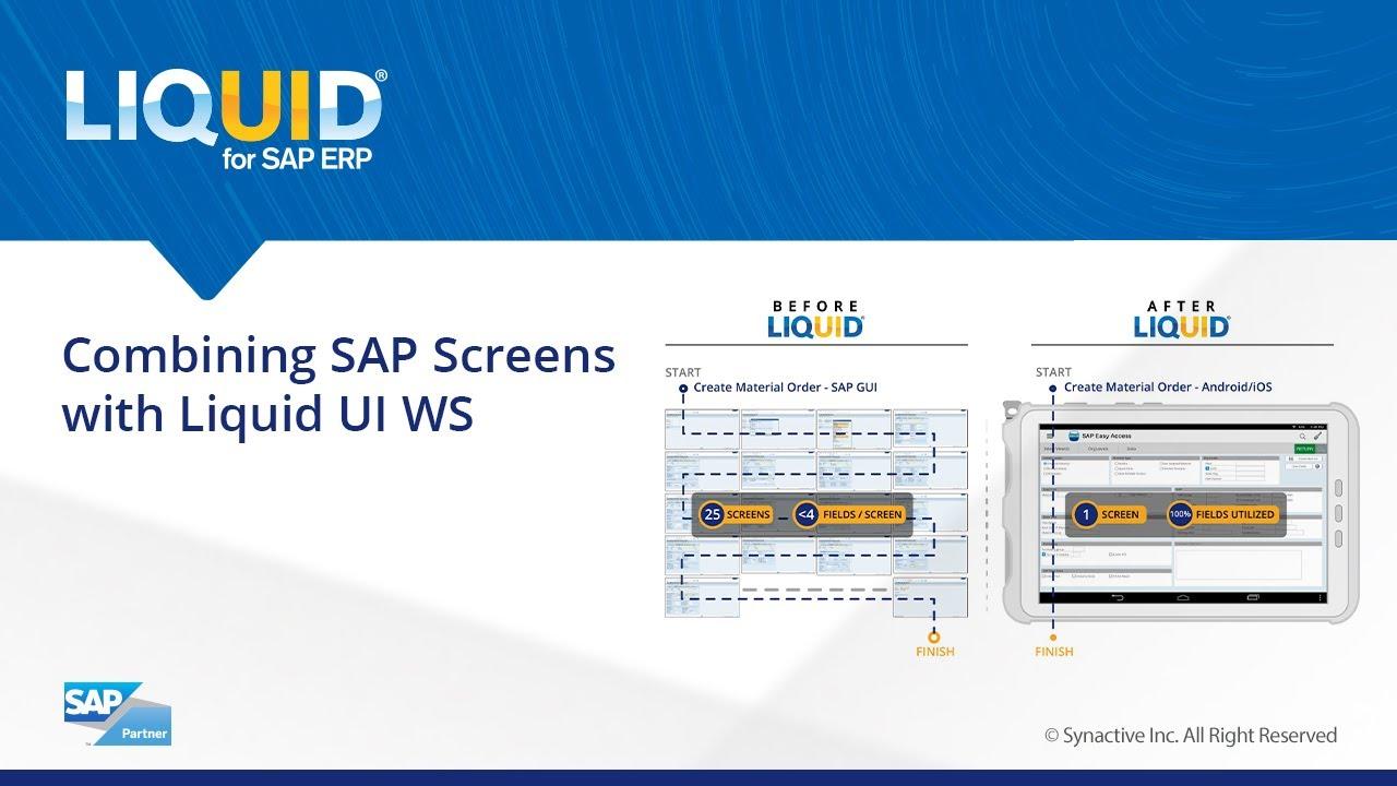 Liquid UI - Desktop Products - Liquid UI for SAP GUI