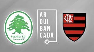 FLAMENGO X BOAVISTA (narração AO VIVO) - Final da Taça Guanabara
