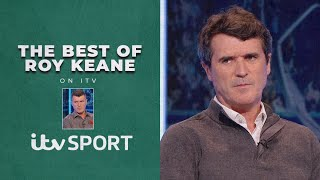 Roy Keane's BEST moments from the Champions League, World Cup, Europa League and Euros | ITV Sport