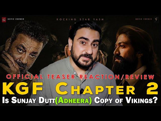 Pakistani Reacts to KGF Chapter 2 Teaser | Yash | Sanjay Dutt | IAmFawad
