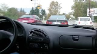 Citroen Saxo 1,6 16V VTS - aggresive city driving
