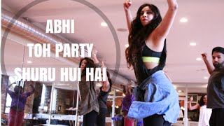 abhi toh party shuru hui hai choreography shereen ladha master class series bollywood dance