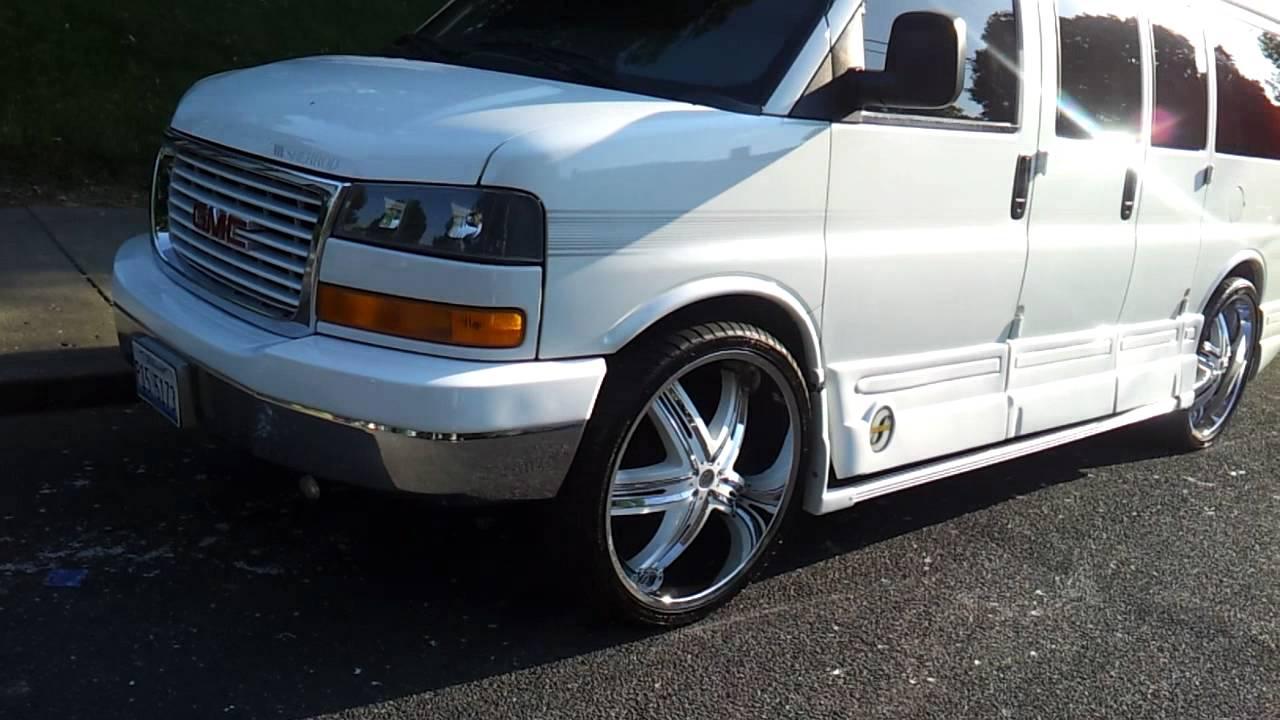 2004 GMC Savana Conversion Hi Top Van On 26s