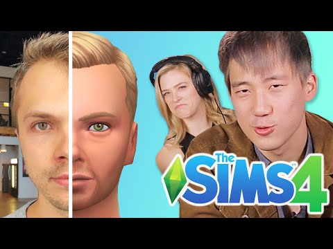 Steven Makes Andrew In The Sims 4