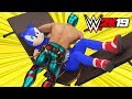 SONIC THE HEDGEHOG & TAILS vs SUPER GAMING FAMILY | WWE 2K19