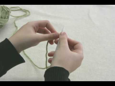 How To Knit Knitted Cast On