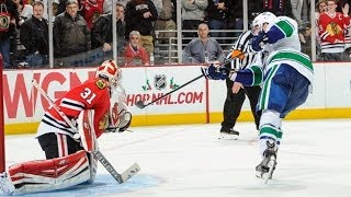 Shootout: Canucks vs Blackhawks
