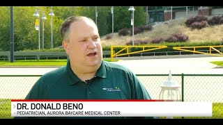 Importance of Immunizations/Flu Shot | Fox 11 Fieldhouse | Aurora BayCare Pediatrics