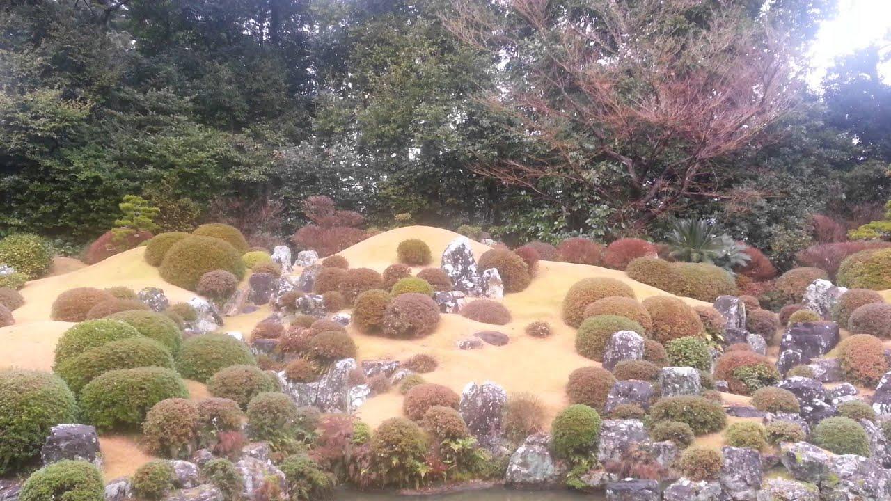 일본 정원 풍경 시즈오카 - YouTube