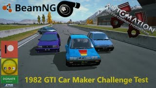 Automaiton game GTI Challenge Results + Driving Viewers cars in BeamNG.Drive