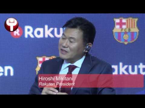 Rakuten: FC Barcelona's new sponsor