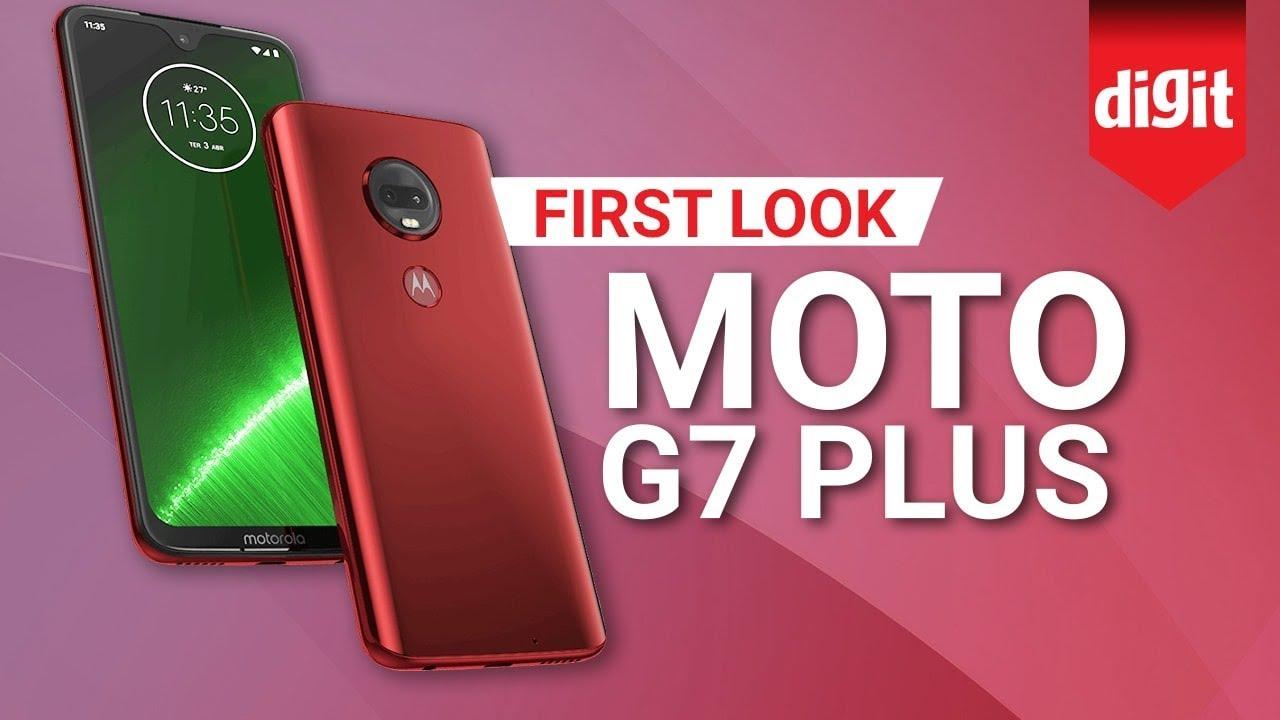 Moto G7 Plus | First Look | Digit.in