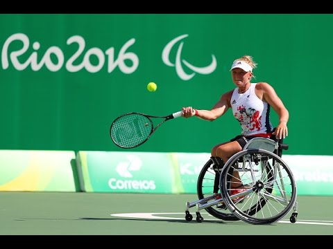 Wheelchair Tennis | J.WHILEY v D.DE GROOT | Women's Singles Quarterfinal | Rio 2016 Paralympic Games