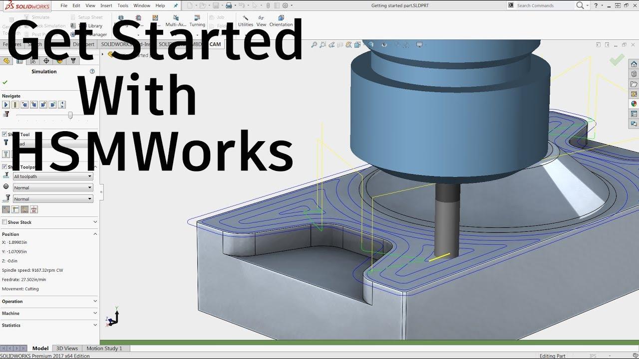 Get Started With HSMWorks