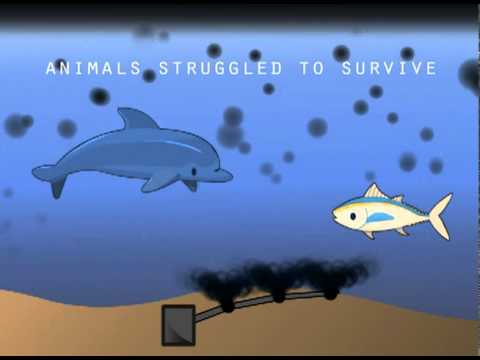 BP Oil Spill Animation