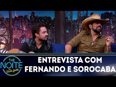 Entrevista com Fernando e Sorocaba   The Noite (02/04/18)