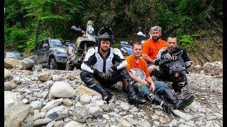 Suzuki Dr 800 Кавказ мы любим Россию часть 6