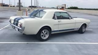 1965 Ford Mustang Shelby GT350 Tribute walk around with Exhaust