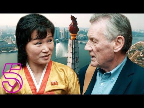 Michael Palin Goes up Pyongyang's Juche Tower | Michael Palin In North Korea | Channel 5