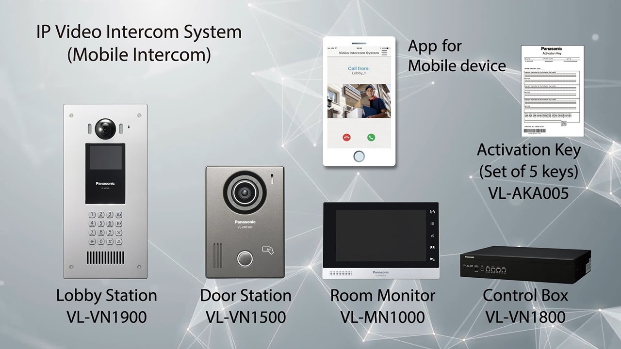 Panasonic IP Video Intercom System (Mobile Intercom) for Asia only