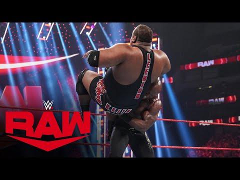 Keith Lee vs. Bobby Lashley: Raw, July 19, 2021