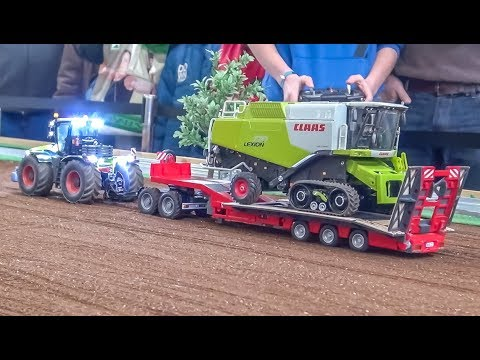 Amazing RC Farming! Modified RC Tractors Work Hard!