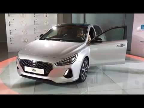 Hyundai i30 third generation world premiere