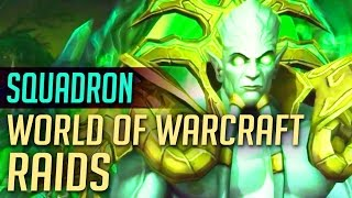 Squadron Guild 25-Man Hellfire Citadel WoW Raid | World of Warcraft: Warlords of Draenor Guild Run