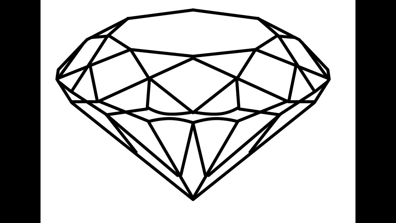 This is a picture of Lucrative Drawing Of Diamonds