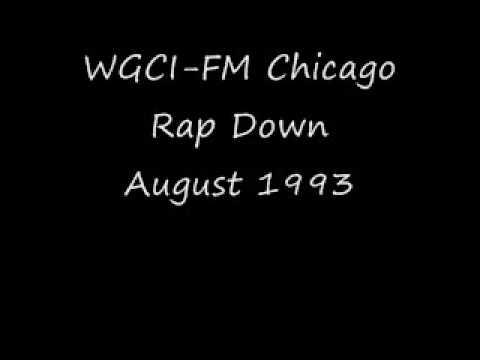 WGCIFM Chicago August  1993 Rap Down
