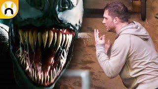VENOM Set Video Reveals Eddie Brock Talking With Symbiote