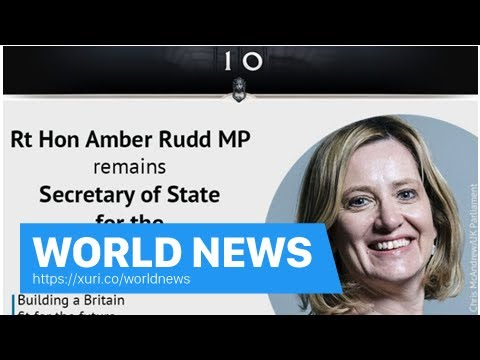 World News - Cabinet reshuffle: David Lidington replaced Damian Green Cabinet Office Minister