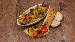 este combinado de verduras salteadas es un aperitivo delicioso