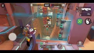 Blast Bots (by KEYSTORM HOLDINGS LTD) - shooting game for android - gameplay.