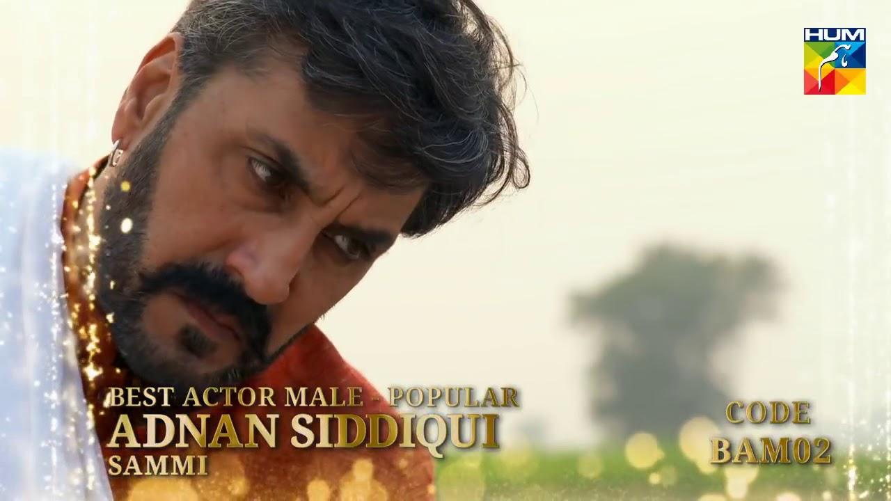 Kashmir 6th HUM Awards 2018   Viewer's Choice Award  Best Actor Male Popular
