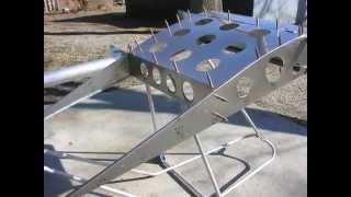 DIY CNC router makes Ultralight Aircraft