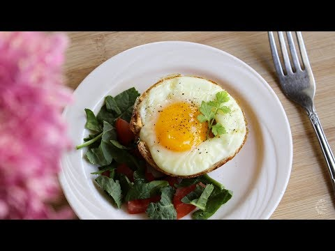 Egg And Toast Cups Recipe | Quick & Easy Breakfast Recipes | The Sweetest Journey