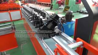 U profile roll forming machine(Cathy Liming Stamping Form Machine Co.,Ltd Address:No 3 Road, Industrial Development Zone, Botou City, Hebei Province, China TEL:0086-317-8223331 ..., 2016-03-11T08:22:23.000Z)