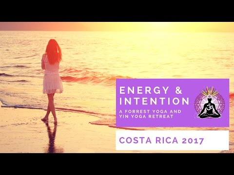 Forrest Yoga & Yin Yoga Retreat in Costa Rica December 2017