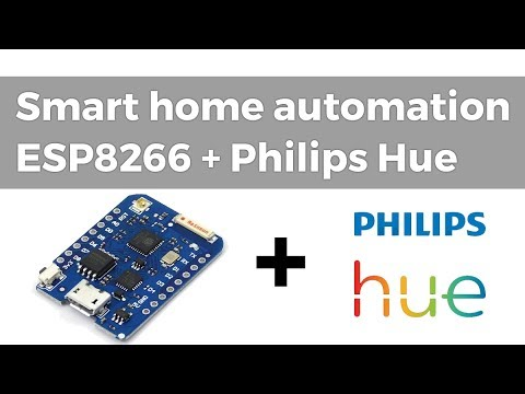 Smart home lights automation with ESP8266 and Philips Hue