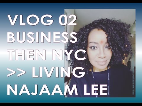 VLOG 02- Business 1st then New York!