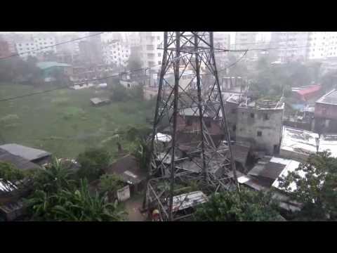 Sound of Rain in Dhaka।।ঢাকায় ঝড়