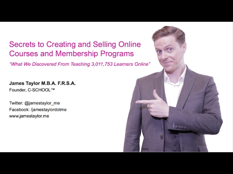 How Keynote Speakers Can Make Money Online | James Taylor @ Asia Professional Speakers Singapore