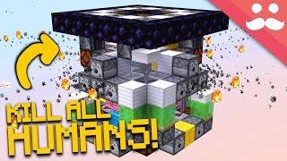 I Made a TINY KILLER CUBE in Minecraft!